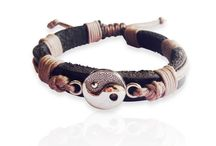 New Leather Bracelets / New Design in Leather Bracelets from Aumkaara and Jewelslane