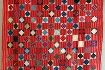 Red Quilts / by Michele
