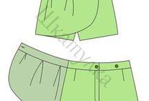 パンツのパターン