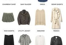 Style Lookbook - LISTS / I love a good packing list, wardrobe basics, or must haves for a season. Especially when they look as adorable, and have as many lust worthy pieces included in them.