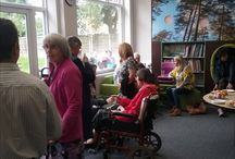 Library volunteers celebration event 2016 / Pictures from the library volunteers event held at Formby Library 06/07/2016