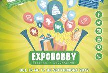 """EXPOHOBBY """"Fiestas y Decoración"""" 2017"""