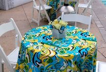 Spring 2014 Event table decor ideas  / by Cloth Connection