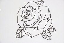 Татуировки С Розой