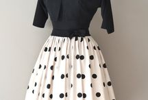 """""""New Look"""" and other 50's dress styles"""