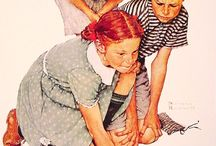 Norman Rockwell / by Norma Owens