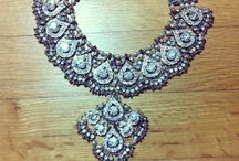Indian Jewelry  / Adorn Shoppe's crystal bridal set available at the adornshoppe.com