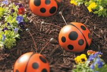 luv ladybugs / by Sondra Romero Leal