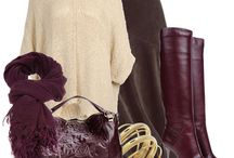 burgundy color boots