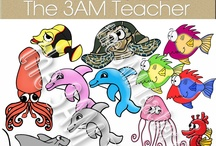 Summer Clip Art / Thank you for visiting! The 3AM Teacher Clip Art original illustrations by Michelle Tsivgadellis. Custom, hand-drawn clip art for teachers, crafters and TPT sellers.  Commercial use okay {restrictions apply}. Visit my complete terms of use on my website by clicking the link here:  http://www.3amteacher.com/clipart-terms-of-use.html