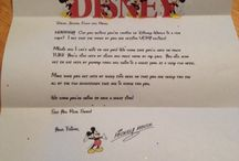 Marlene duffy / Disney letter to the kids