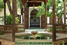 Architecture - Moorish garden