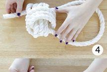 Ropes knots