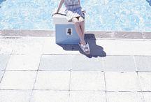 -Pool Party- / C'est le grand plouf ! Piquer une tête dans la piscine, se prélasser au soleil, nager comme un poisson, faire la fête avec les copines... Summer is coming en Jours après Lunes !