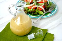 Healthy sauces, dressings and dips