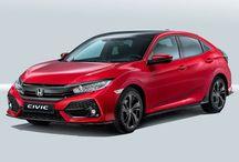 Honda Civic Reveled in Paris auto show