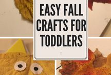 Fall Crafts and Activities / Fall can be such a gorgeous season. The colours are so bright and vibrant. These crafts and activities are perfect for fall. #HarassedMom #fallcrafts #fall #craftsforkids
