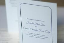 Wedding / custom wedding paper inspiration / by Gourmet Invitations