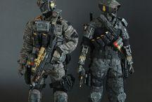 1/6 military
