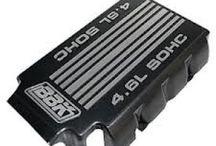BBK 10255 - Aluminum Decorative Engine Cover (Charcoal Metallic)