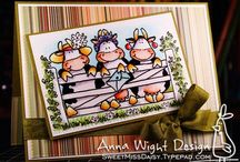 Cow card ideas / by Dianne Glanz