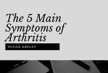 Symptoms of Arthritis / Micha Abeles is a practicing rheumatologist in Meriden, Connecticut. This pin board is a collection of images from Micha's Slideshare presentation that outlines the symptoms of arthritis.