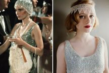 Great Gatsby and Art Deco and Downton Abbey