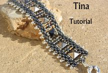 Pyramid beads
