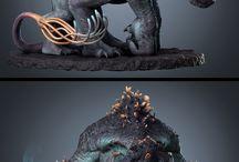 Mini figures /skulptures