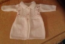 Baby knitted jacket  / Hand knitted