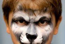 Facepaint animal ideas