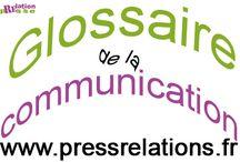 Glossaire de la communication