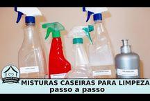 Limpeza / Dicas de limpeza, produtos de limpeza, limpeza ecológica...