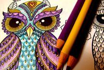 Mon Art-Thérapie / Mes coloriages d'art-thérapie!
