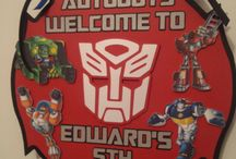 Transformers 4th Birthday Ideas / Calling all Autobots!!