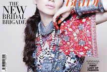 Kangana Ranaut adorns Apala by Sumit for the Cover Page of Harper's Bazaar Bride, October Issue!