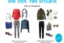 One Item, Two Stylists / Every item of clothing deserving a spot in your closet must be able to be styled a few different ways.  Here we give you two examples of how one item can be styled.