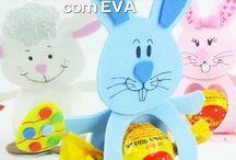 E.V.A / #artesanato #eva #moldes #passo #div