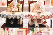 Twins first birthday ideas / by Mandy Passey Rasmuson