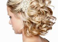 Ingrid's wedding hair styles / Hairstyles for Ingrid's wedding bride and bridesmaids hair styles