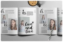 #FreebieFriyay Magazine templates