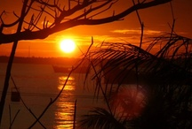 BEAUTIFUL SUNSET IN INDONESIA