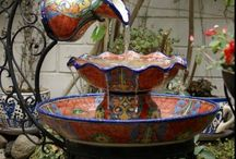 Fountains and Ponds / Fountains for the outside!! / by Cathy Terrell