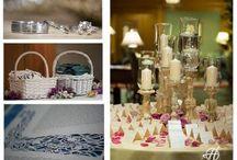 Wedding arrangements / wedding reception details  wedding ceremony detail  flower, props