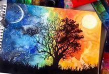 Красочные картины