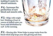 Water + Hydration / Consuming the right amount of water each day is so important to overall health and fitness. Let's get creative and stay hydrated!