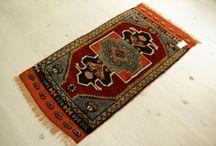 トルコ絨毯 コンヤ  93X50cm