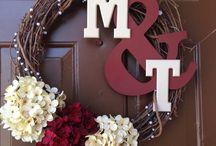 couple wreaths