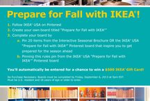 Prepare for Fall with IKEA