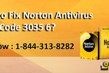 How to Fix Norton Antivirus Error Code 3035 6?